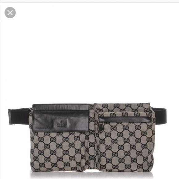 619323eb34 Gucci Monogram Bum Bag Waist Pouch Fanny Pack. M_5bb039bd12cd4a153096b0b7